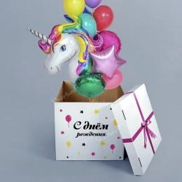 Коробка с вылетающими шарами №5