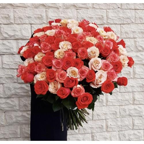 Роза 70-80 см поштучно - фото
