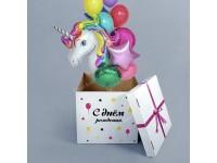 Гелиевые шарики и фигуры в подарочной коробке уже в наличие!